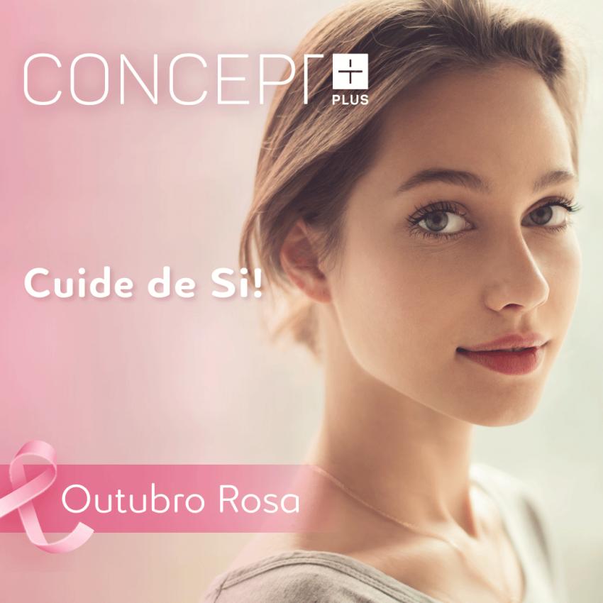 Outubro Rosa com a Concept Plus